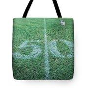 50 Yard Mascot Tote Bag