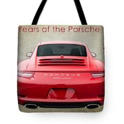 50 Years Of The Porsche 911 E182 Tote Bag