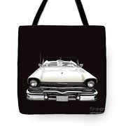 50s Ford Fairlane Convertible Tote Bag