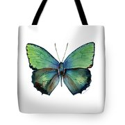 52 Arhopala Aurea Butterfly Tote Bag by Amy Kirkpatrick