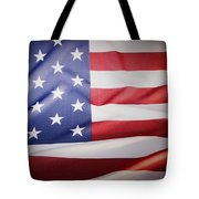 American Flag Tote Bag