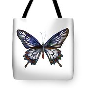 54 Ceylon Rose Butterfly Tote Bag