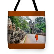 54 Gods And A Monk Tote Bag