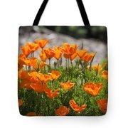 547 Cf Orange Green And Gray Tote Bag