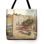 The Ancient Town Of Agrigentum Tote Bag