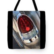 55 Bel Air Tail Light-8184 Tote Bag