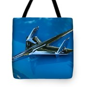 55 Chevrolet Hood Ornament Tote Bag