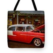 55 Chevy Belair Tote Bag