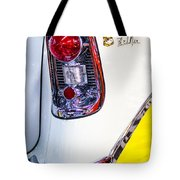 56 Chevy Bel-air Tail Light Tote Bag