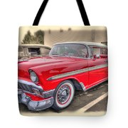 56 Classic Chevy Tote Bag