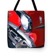 57 Chevy Front End Palm Springs Tote Bag