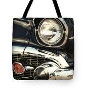 57 Chevy Headlight Tote Bag