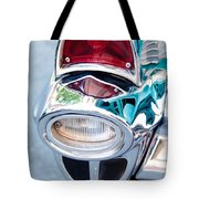 57 Chevy Taillight Tote Bag