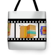 57 Contact Strip Tote Bag