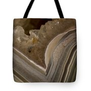 Agate Closeup Tote Bag