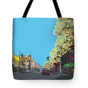 5th Ave And Garfield Park Slope Brooklyn Tote Bag