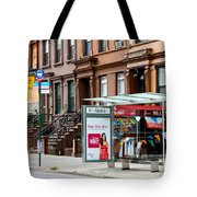 5th Ave And West 132nd Street Tote Bag