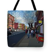 5th Ave Park Slope Brooklyn Tote Bag