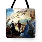 Weimaraner Art Canvas Print  Tote Bag