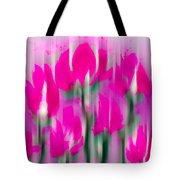 6 1/2 Flowers Tote Bag