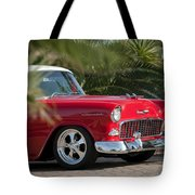1955 Chevrolet 210 Tote Bag