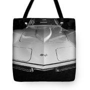 1969 Chevrolet Corvette 427 Bw Tote Bag