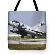 A Qatar Emiri Air Force Mirage Tote Bag