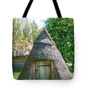 A Typical Ukrainian Antique Hut Tote Bag