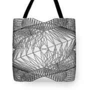 Abstract Structural Construction Tote Bag