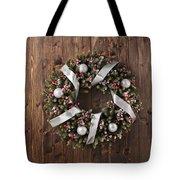Advent Christmas Wreath Decoration Tote Bag
