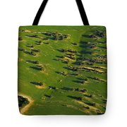 Aerial Geometries Tote Bag