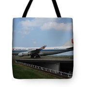 Air China Cargo Boeing 747 Tote Bag