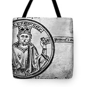 Alfred The Great (849-899) Tote Bag