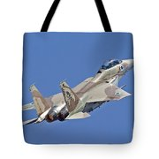 An F-15i Raam Of The Israeli Air Force Tote Bag
