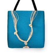 Aphrodite Anadyomene Necklace Tote Bag by Augusta Stylianou