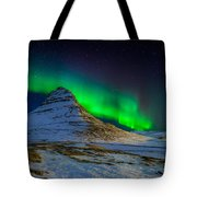Aurora Borealis Or Northern Lights Tote Bag