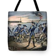 Battle Of Long Island, 1776 Tote Bag