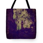 Big Ben Street Tote Bag