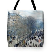 Boulevard Des Capucines Tote Bag