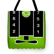 Chevrolet Firing Order Tote Bag