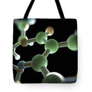 Cocaine Molecule Tote Bag
