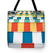 Colorful Roofs Tote Bag