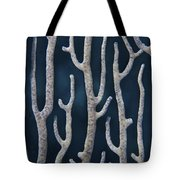 Coral Design Tote Bag by Jean Noren