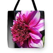 Dahlia Named Blue Bayou Tote Bag