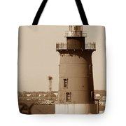 Delaware Breakwater Lighthouse Tote Bag