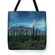 Denali Highway, Route 8, Offers Views Tote Bag