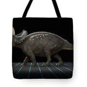 Dinosaur Diceratops Tote Bag