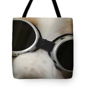 Dog With Sunglasses Tote Bag