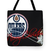 Edmonton Oilers Tote Bag