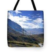 Electricity Pylon Tote Bag